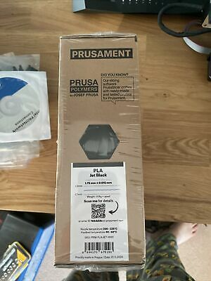 Prusament PLA Jet Black • 24.99£