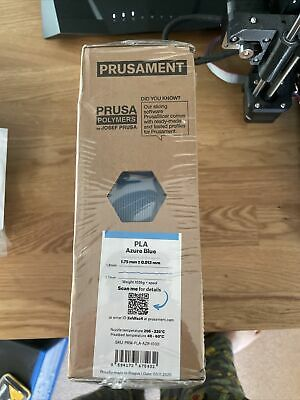 Prusament PLA Azure Blue Filament • 24.99£