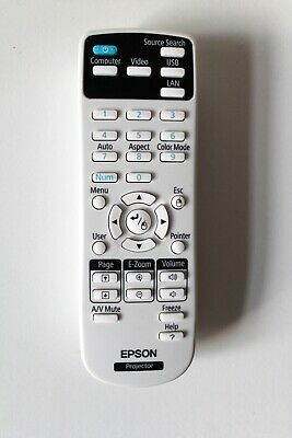 GENUINE EPSON Projector Remote For Epson 159917600 • 8.99£