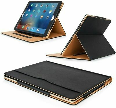 Genuine Leather TAN Magnetic Case Cover For Apple IPad Pro 12.9  2017/2015/2016 • 9.25£