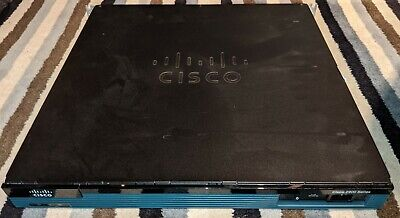Cisco 2900 Series 2901 Integrated Services Router With Rack Mount Brackets/ears • 35£