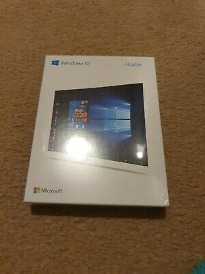 Genuine Windows 10 Home OS For 64/32 Bit Licence & Install USB *NEW & SEALED* • 65£