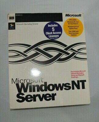 Windows NT Server • 20£