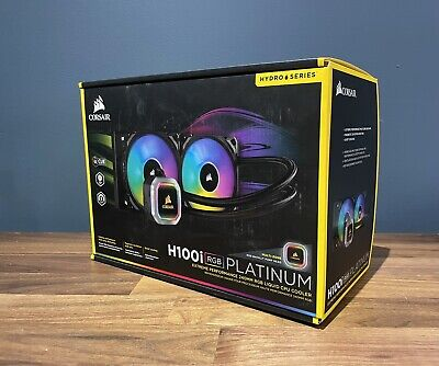 Corsair H100i RGB Platinum 240mm AIO Liquid Cooler • 31£