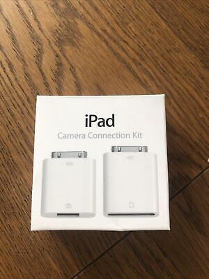 Genuine Apple IPad Camera Connection Kit   For SD Card & Camera Cable   Unused • 1.70£
