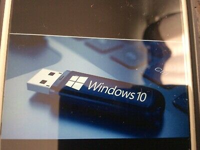 Windows 10 32/64-bit Bootable USB For Fresh Install/repair • 10£