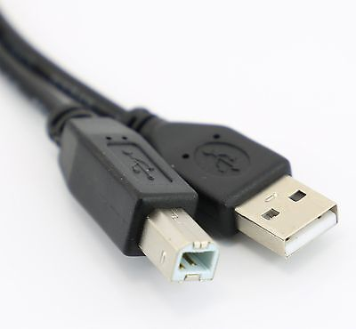 USB A To B Printer Cable LONG 5m 2.0  • 2.79£