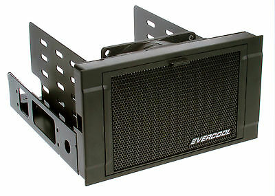 New Evercool HD-AR-R ARMOR 2x 5.25  Drive Bay To 3x 3.5  Or 4x 2.5  HDD Cooler • 31.99£
