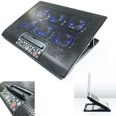Laptop Cooler Stand With 6 Fan & Tilt For 15 17  Inch Button Control Cooling Pad • 93.75£