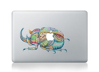 Macbook 13 Inch Decal Sticker Dynastinae And Apple Art For Apple Laptop • 6.16£