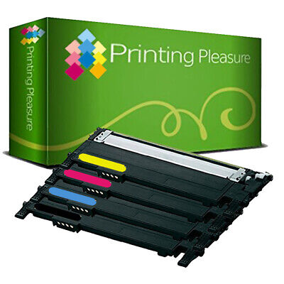 4 Toner Cartridges For Samsung Colour Laser Express C410W C460FW C460W CLT406S • 35.99£