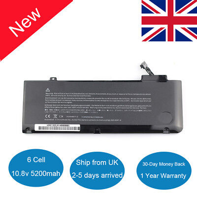 New Battery A1322 For Apple MacBook Pro 13  A1278 Mid 2009 2010 2011 MB990 MB991 • 22.99£