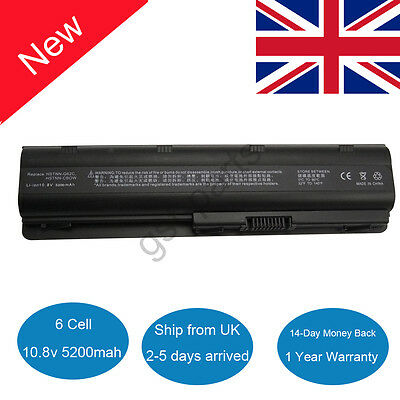 New Battery For HP Compaq Presario CQ42 CQ62 CQ72 593553-001 Pavilion G6 DV7 UK • 14.79£