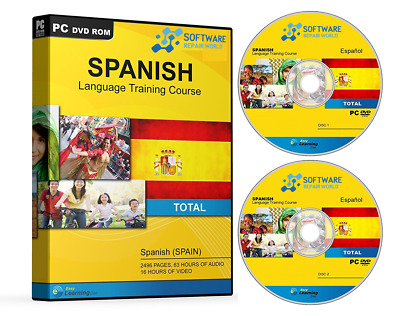 Learn How To Speak SPANISH Language 2 X DVD Learning Course • 6.29£