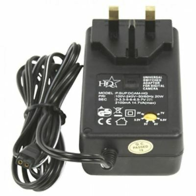HQ Universal AC/DC Switching Plug In Adapter • 9.99£
