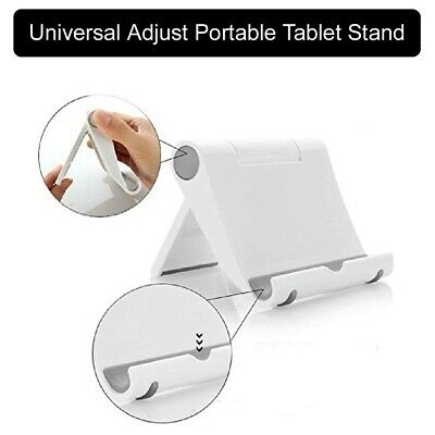 Universal Adjust Portable Tablet Stand Holder Desk For IPad Mobile Phone Samsung • 3.99£