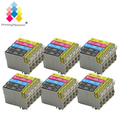 Ink Cartridges PP For Epson Workforce WF-2520NF WF-2630WF WF-2750DWF WF-2010W • 10.44£