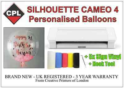 Home Business Supplying Personalised Balloons With The Silhouette Cameo 4 • 350£