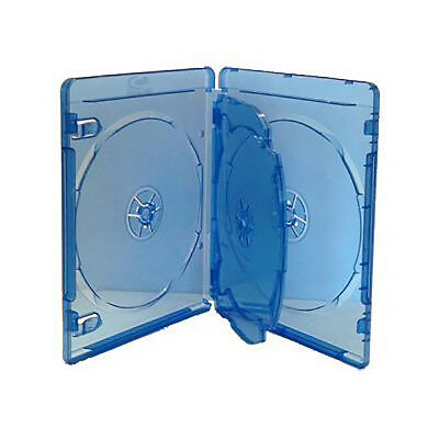 1 X 4 Way Blu-Ray Quad Case 4 Discs Full Outer Clear Sleeve 14mm High Quality  • 2.79£