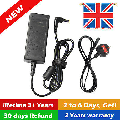 Acer Aspire 3 A315-21-44qb Replacement 19v 2.37a Laptop 45w Ac Adapter Charger • 9.99£