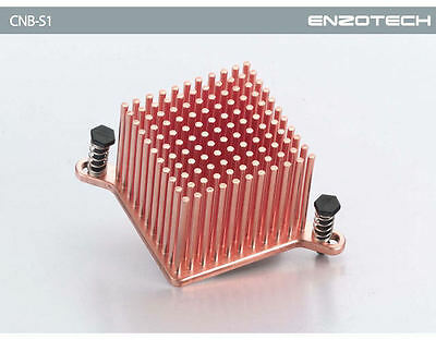 Enzotech CNB-S1 One-Piece Copper Northbridge Heatsink • 21.45£