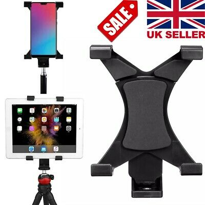 Tripod Mount Holder Bracket 1/4''Thread Adapter For 7''~10.1'' Tablet PC IPad UK • 5.69£