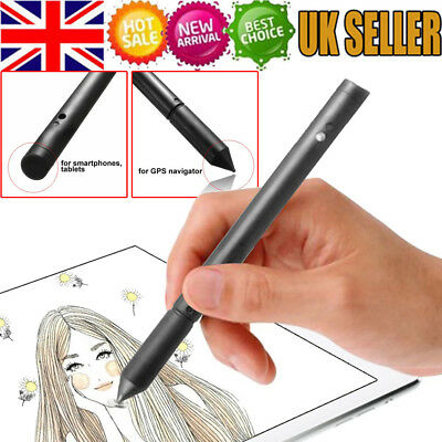 2 In1 Touch Screen Stylus Pen High Accuracy Capacitive Fits IPhone IPad Samsun-P • 2.65£