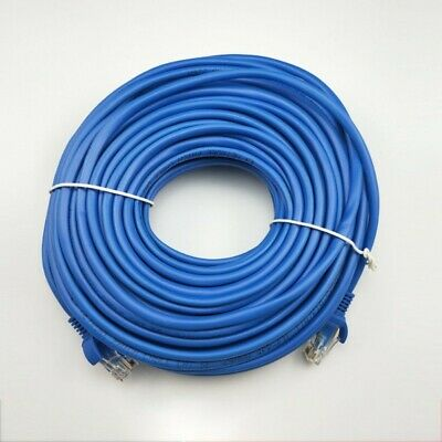 CAT5e RJ45 Ethernet Network High Speed LAN Patch Cable 1M To 50M Wholesale BLUE • 5.89£