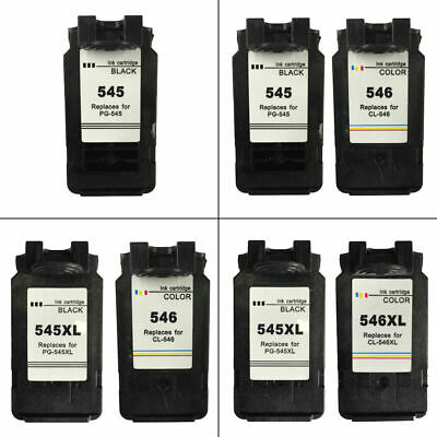 Canon PG545 / PG545XL / CL546 / CL546XL Refilled Ink Cartridges For PIXMA MG2450 • 14.95£