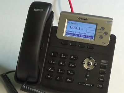 Yealink T23G VoIP IP Phone  With Power Supply  • 39.99£