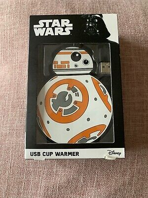 Disney's Star Wars Wires Usb Cup Warmer. Brand New • 4£