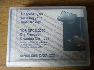 Tandberg Dry Process Cleaning Cartridge TDS-DPCC-2000 (Brand New - Sealed) • 7.99£