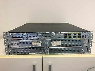 Cisco 3945 Integrated Services Router, C3900-SPE250/K9 • 169.95£