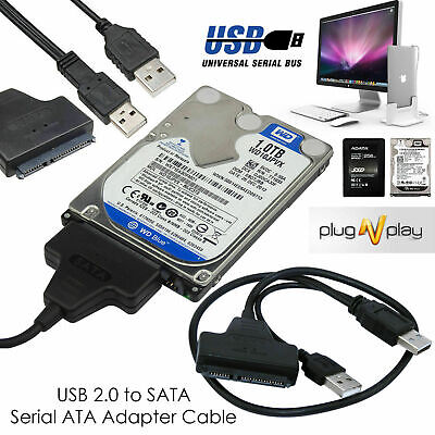 USB 3.0 To SATA 2.5″ Adapter Cable Reader For External SSD HDD Hard Disk Drive • 4.49£
