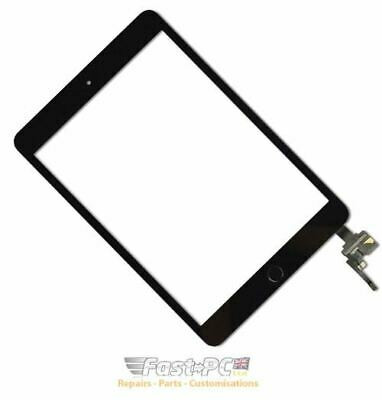 Black IPad Mini 3 OEM Front Touch Screen Digitizer With Home Button • 25.99£
