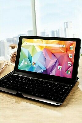 10.1  2In1 Tablet Computer Android 8.1 Go Quad Core 16GB 1GB Bluetooth Multi New • 69.99£