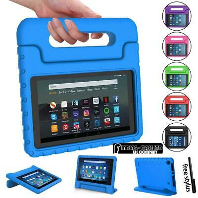 For Amazon Fire 7  HD 8  Tablet ShockProof EVA Handle Kids Stand Cover Case +Pen • 8.99£
