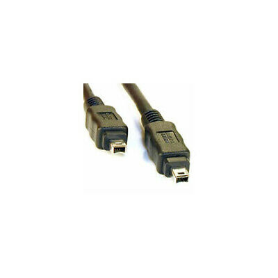 Firewire Lead 4 To 4 Pin Cable 1.8 Metres IEEE1394 DV Out To PC • 2.49£