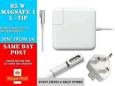 85W Power Adapter Charger For Apple Mag Safe 1 Mac Book Pro 15 17   A1297 A1172 • 24.90£