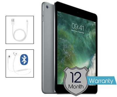Apple IPad Mini 2 -32GB- Space Grey Tablet 7.9inch - Various Colours + Free Case • 99.95£