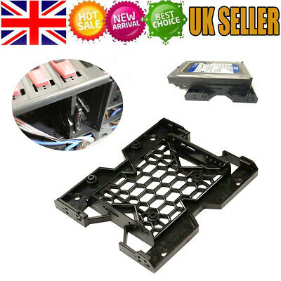 5.25  To 2.5  SSD 3.5  HDD Hard Drive Bay Adapter Holder Tray Base Bracket • 3.59£