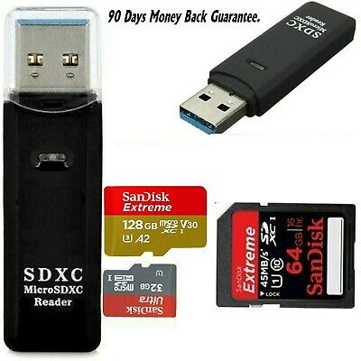 Memory Card Reader Multi USB 3.0 High Speed Adapter Flash Micro SD SDXC TF UK  • 5.99£