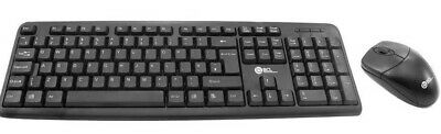 USB Keyboard And Mouse Combo Set Wired Black UK Retail Boxed Qwerty • 8.49£