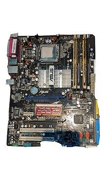 ASUS  PSN-E SLI Motherboard   With Intel Core 2 Quad 2.4ghz And 4GB Ram  • 25£