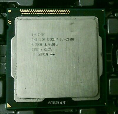 Intel SR00B Core I7 2600 3.4GHz Quad-Core CPU Processor • 70.99£