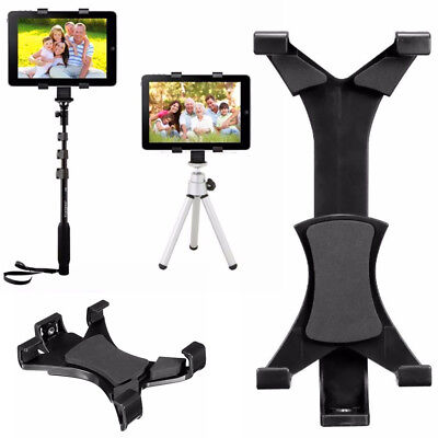 Tripod Mount Holder Bracket 1/4'' Thread Adapter For 7''~10.1'' Tablet PC IPad • 5.99£