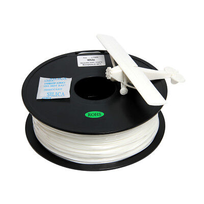 Geeetech White PLA Filament 1 Kg 1.75 Mm Per Roll Good Quality From UK • 19.99£