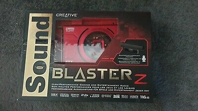 Creative Sound Blaster Z PCIe DTS Gaming Sound Card With Beamforming Microphone • 22£