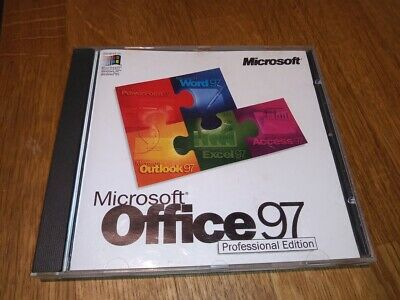 Microsoft Office 97 Professional Edition • 10.99£