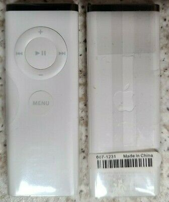 Official Apple Remote For IMac, Macbook, IPod, TV - White A1156 • 8£